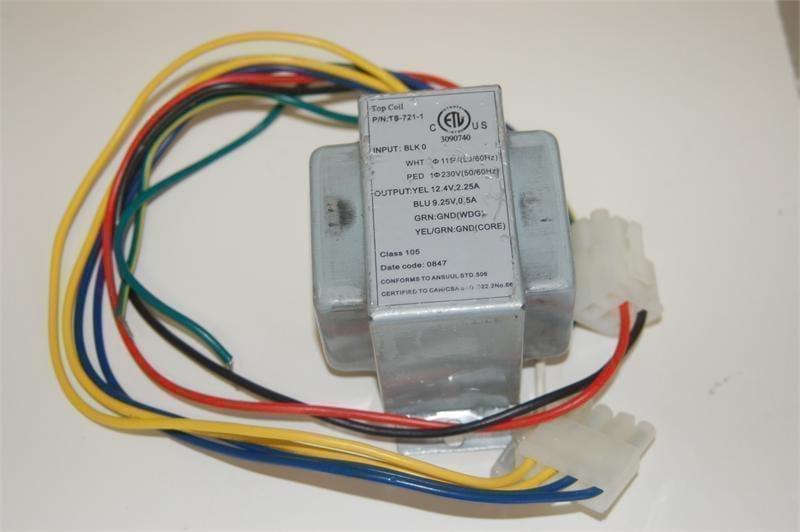sundance-jacuzzi spa circuit board transformer 6000-515