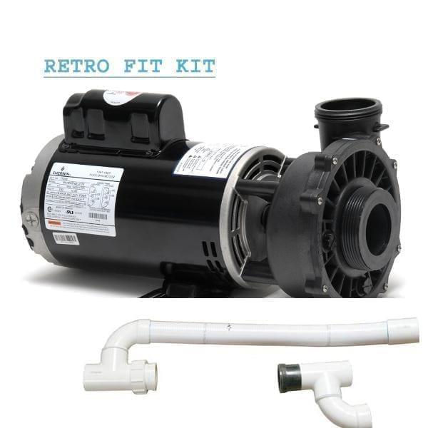 Cal Spa 4 Bhp Dually Pump A 1 Spa Control