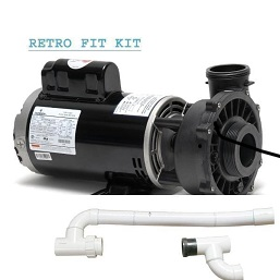 cal spa dually pump