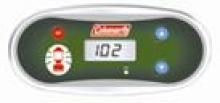Coleman spa topside control panel vl406u