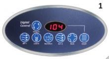 Correct Tech Mini Max Oval Topside Control CTI Generic 1-628-MS