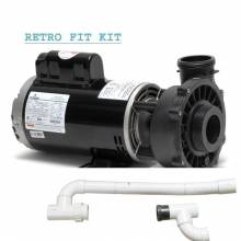 Cal Spa 4 HP DUALLY PUMP retrofit